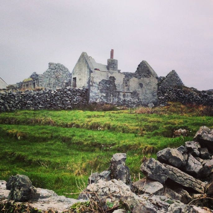 Ruins on Inishmore